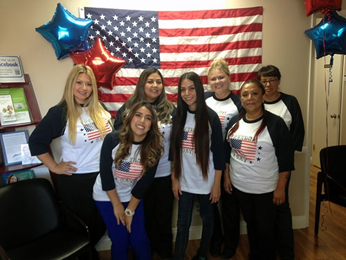 AV-Sierra-Dental-Center-team-during-the-Freedom-Day-charity-event