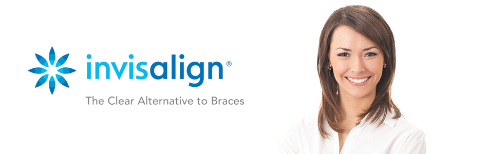 Woman after Invisalign Invisible Braces from her Palmdale CA dentist