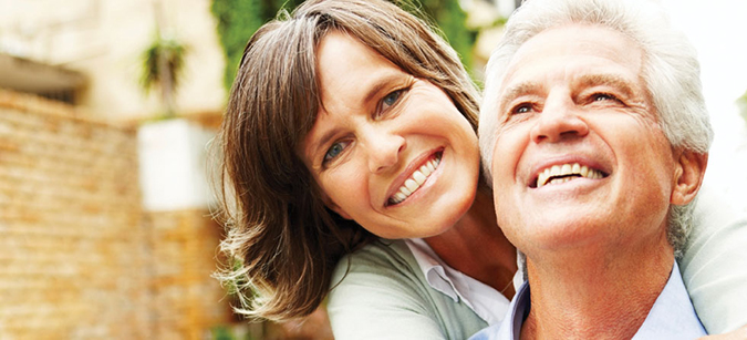 Couple after Periodontal Disease Treatment from their Palmdale CA dentist