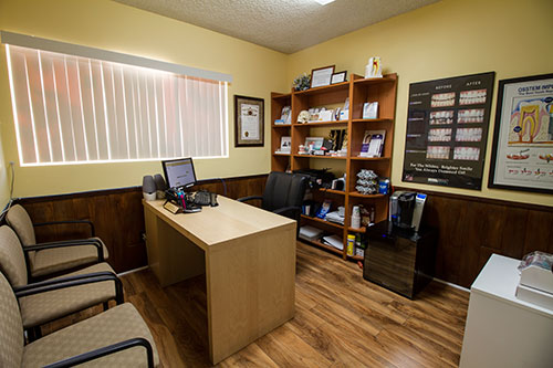 Office photography for Palmdale dentist AV Sierra Dental Center