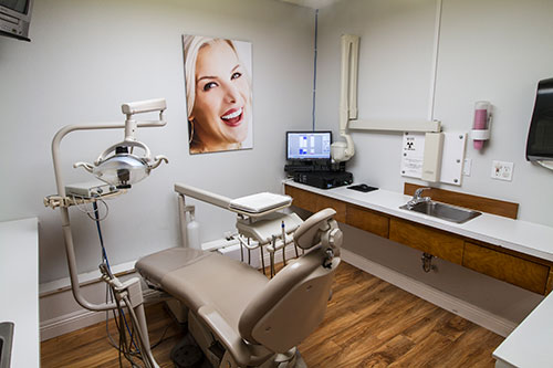 Operatory photography at Palmdale dentist office