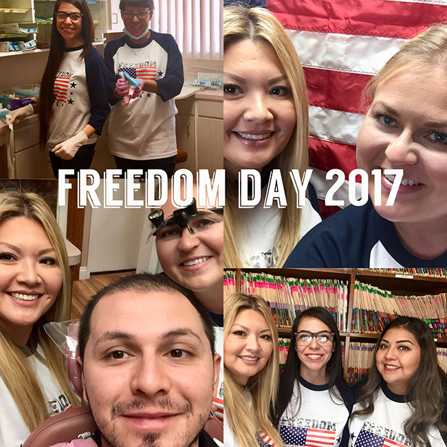 AV Sierra Dental Center Supports Freedom Day